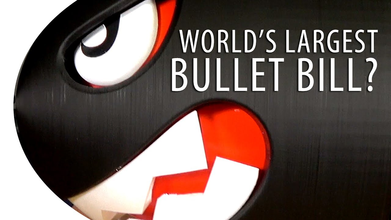 World's Largest Bullet Bill?
