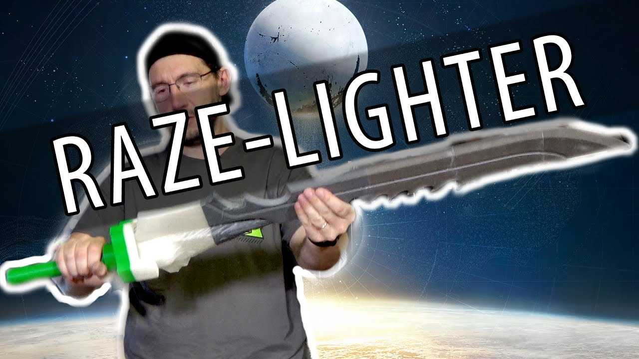 Raze-Lighter Sword from Destiny