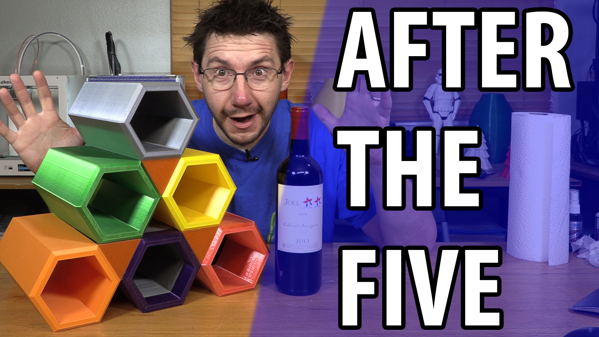 After The Five – Make Something Wine Rack