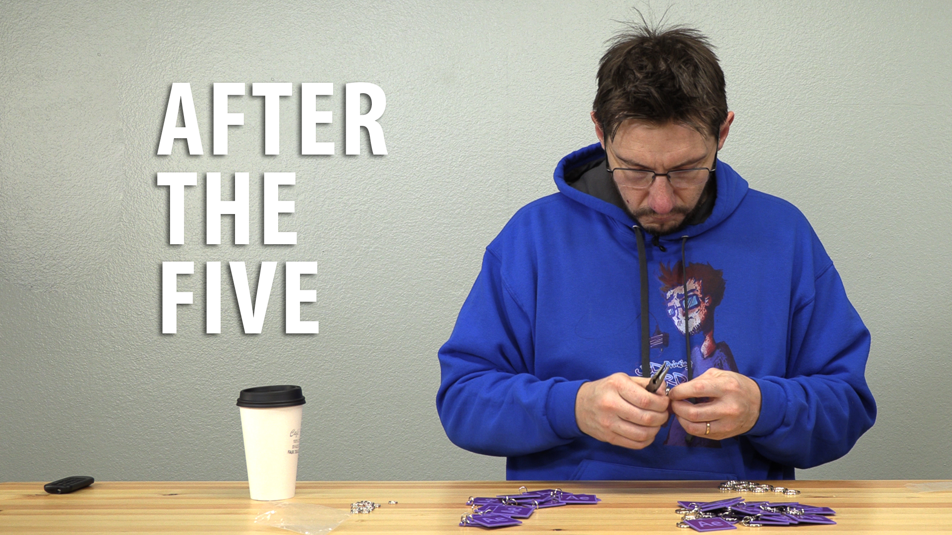 After The Five – After Effects Keychains