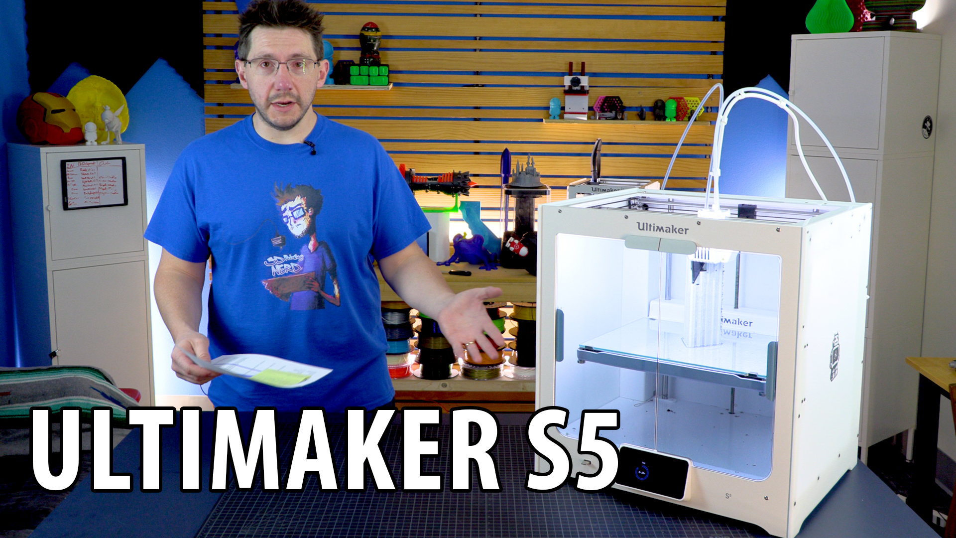 First Look at the Ultimaker S5 3D Printer Thanks to Matterhackers