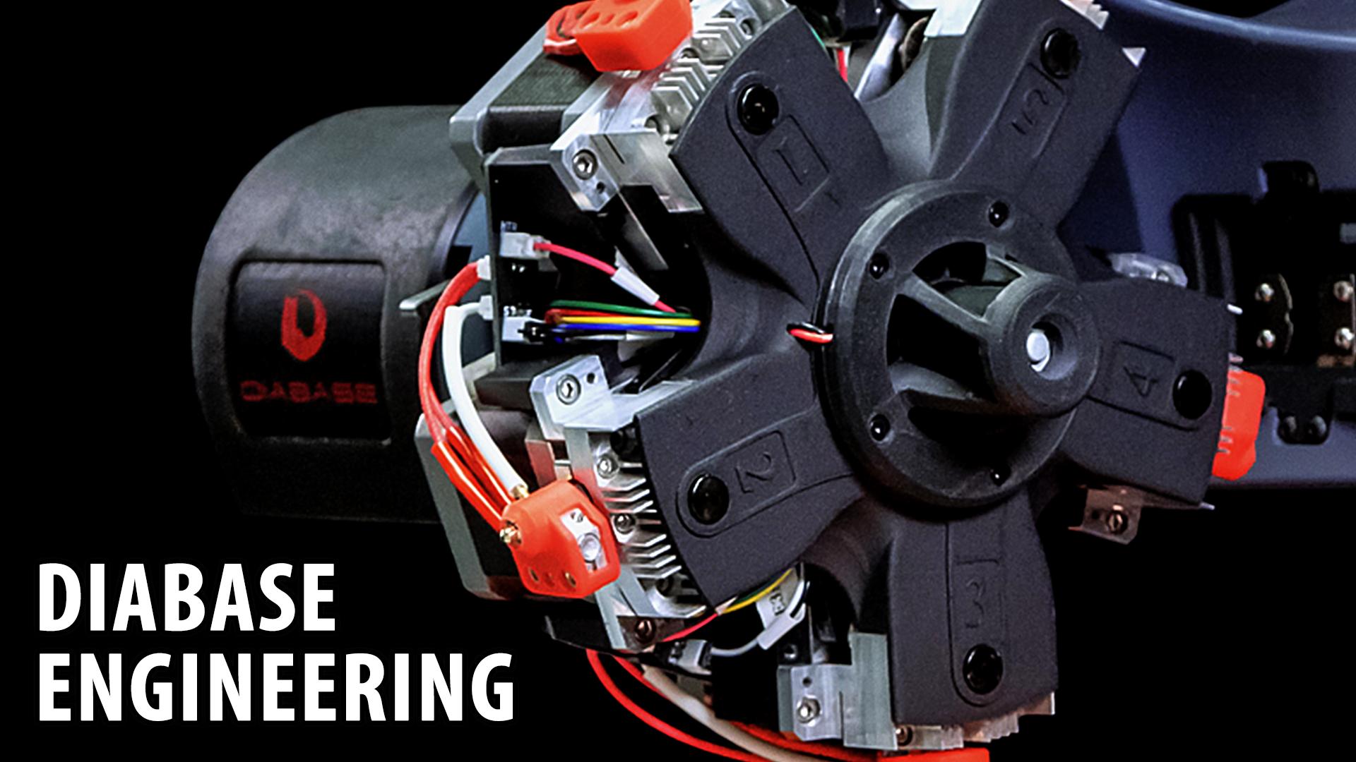 Diabase Engineering H-Series 3D Printer / CNC Milling / Laser Scanning