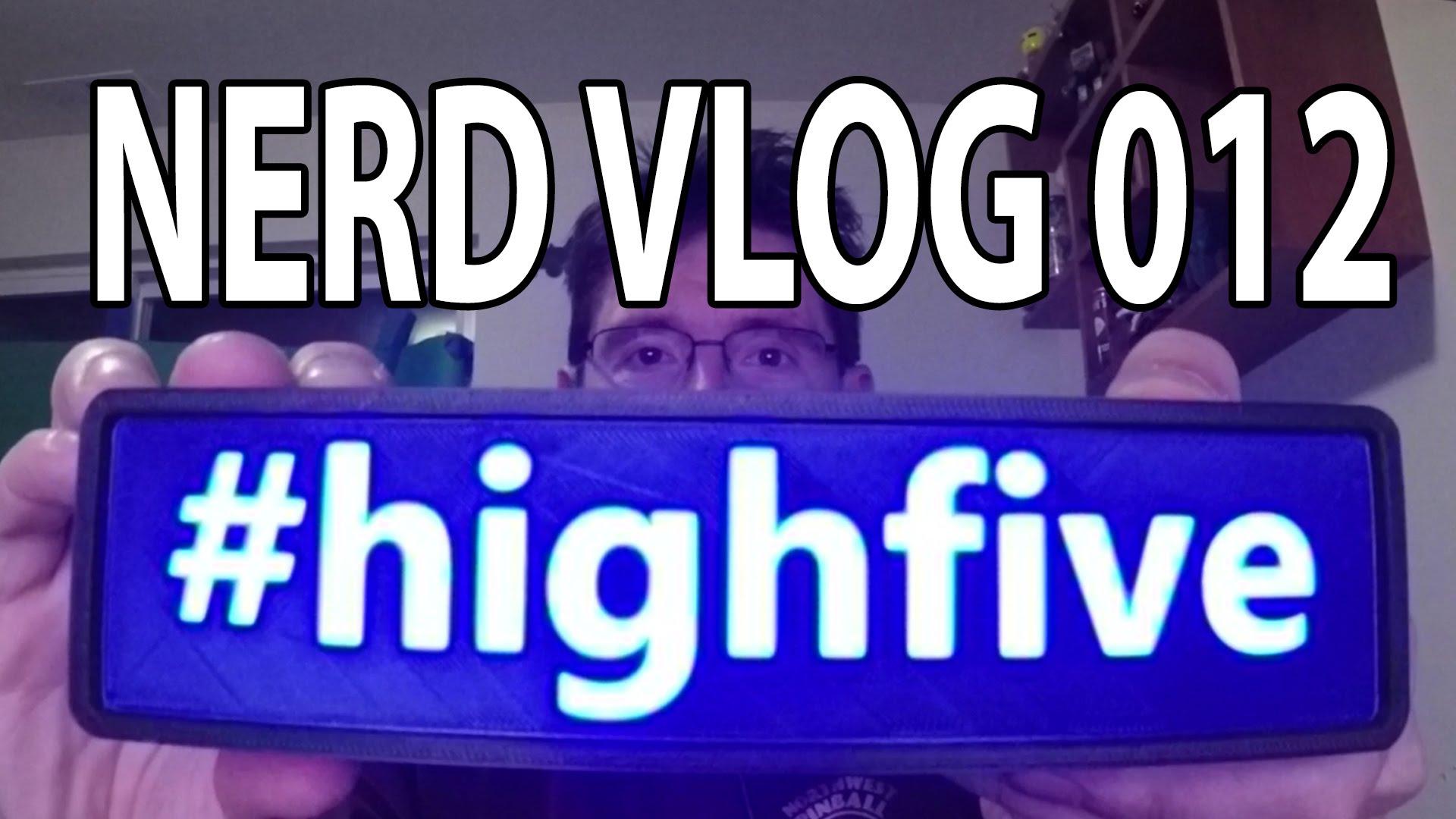 Nerd Vlog 012 – Printers, printers, and more printers!