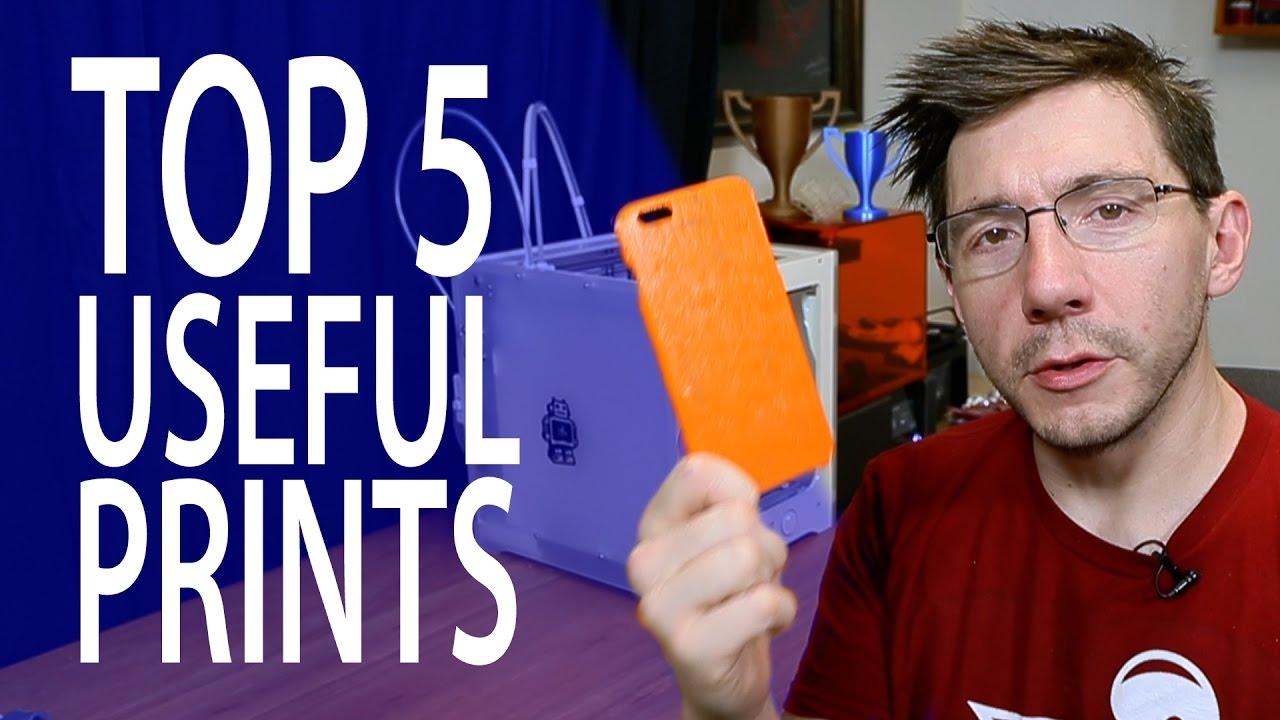 My Top 5 Useful 3D Prints