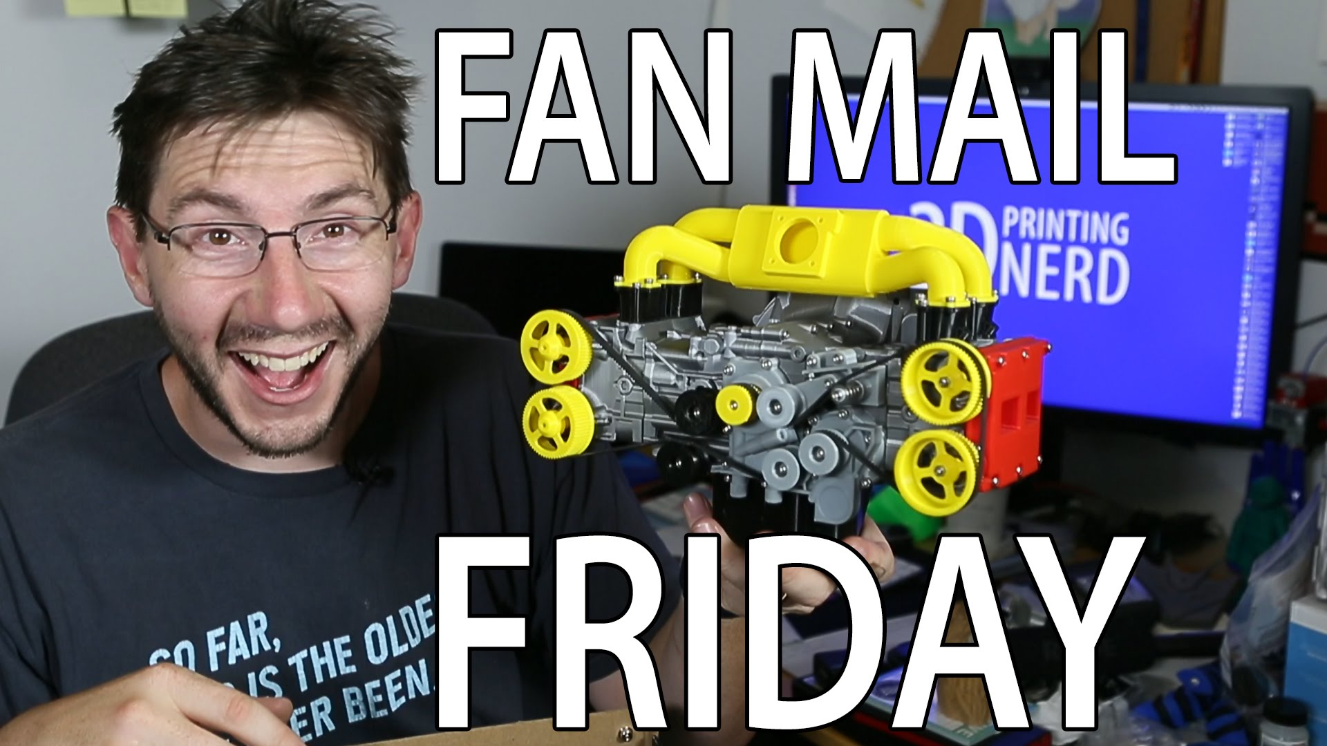 Fan Mail Friday – ON A FRIDAY!