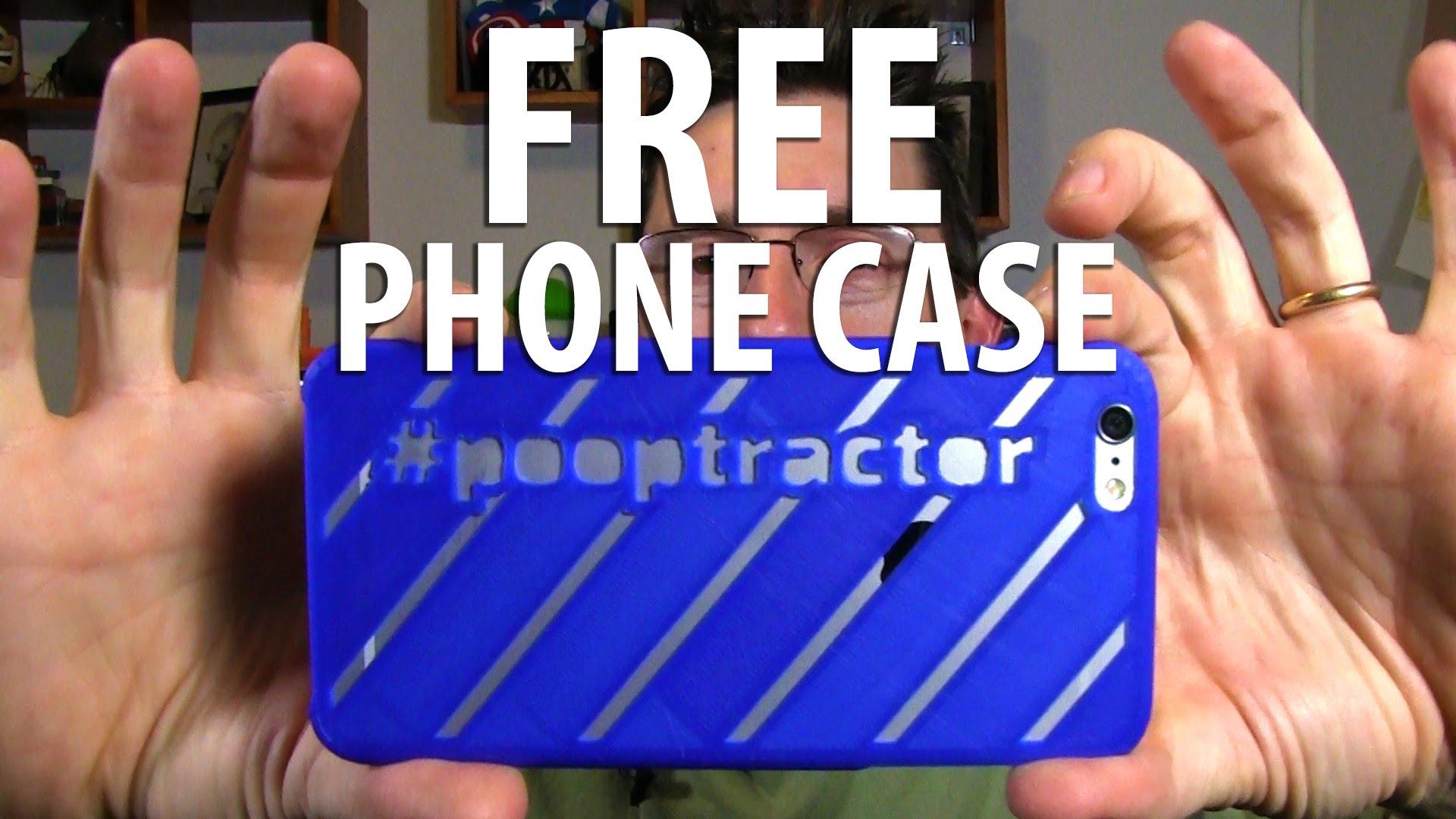 3D Print a Custom Free Phone Case