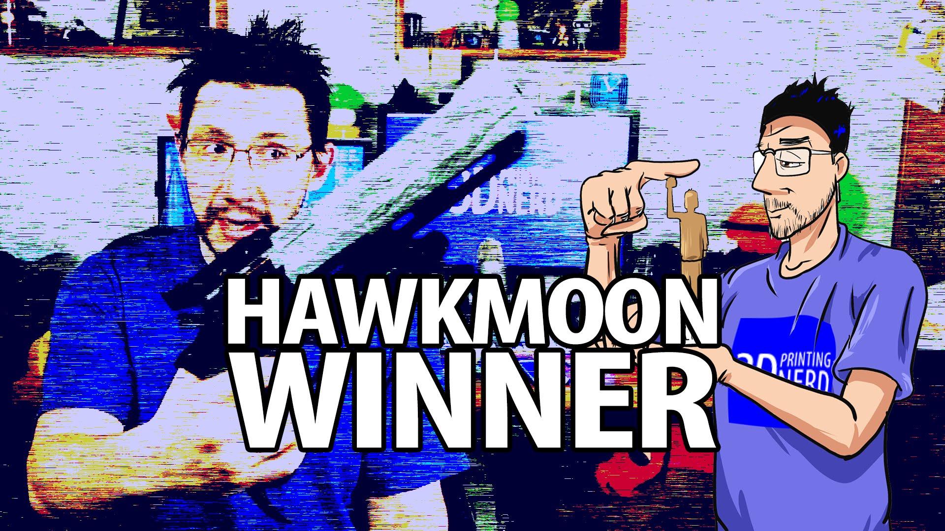3D Printed Hawkmoon WInner Announced