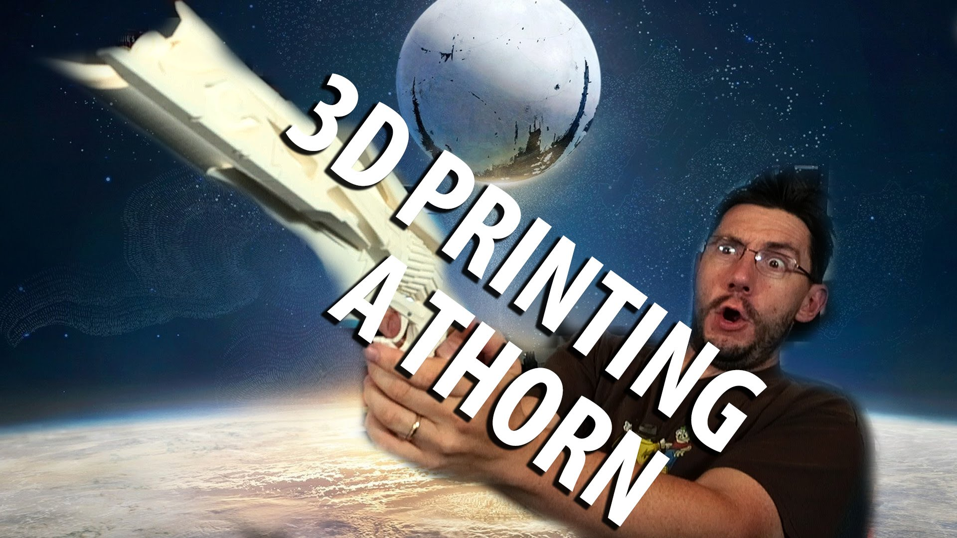 3D Printing: Assembling Thorn from Destiny