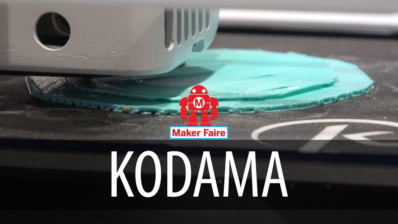 The Kodama Obsidian / $99 3D Printer at Bay Area Maker Faire #MFBA17