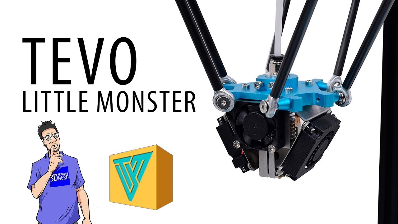 Watch This Before Buying a TEVO Little Monster 3D Printer – Assembly & Usage First Impressions