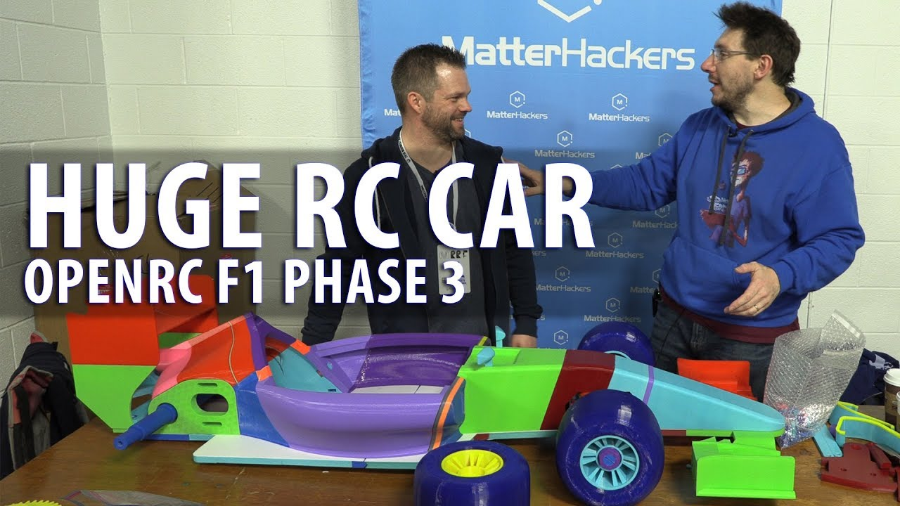 Worlds Largest OpenRC F1 Car – Phase 3 // Assembling the Parts with Daniel Noree #MRRF2018 #OPENRCF1