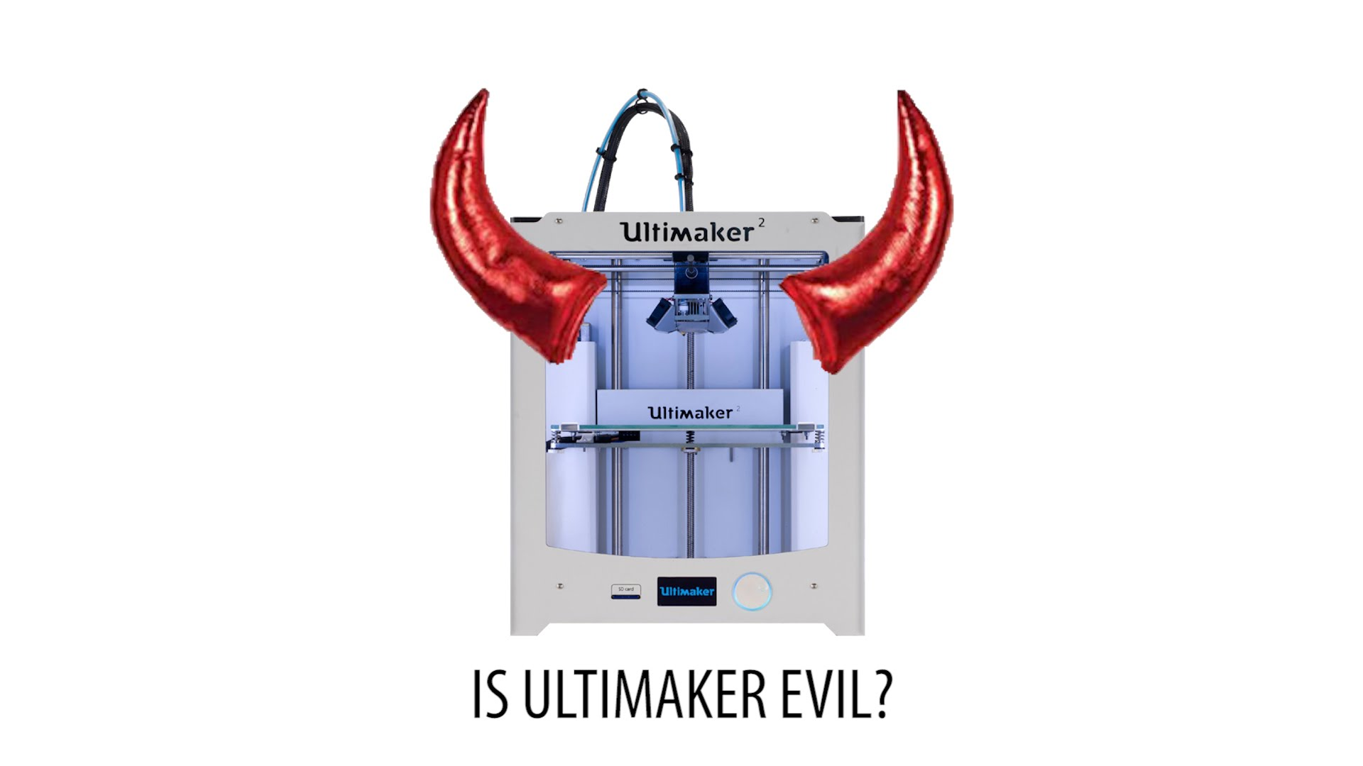 Is Ultimaker Evil? [UPDATE in the comments]