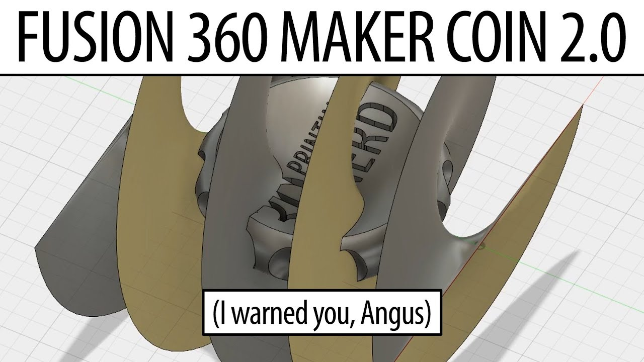 3D Printing Candy Cane Maker Coin – the Maker's Muse Fusion 360 Tutorial Next Logical Step