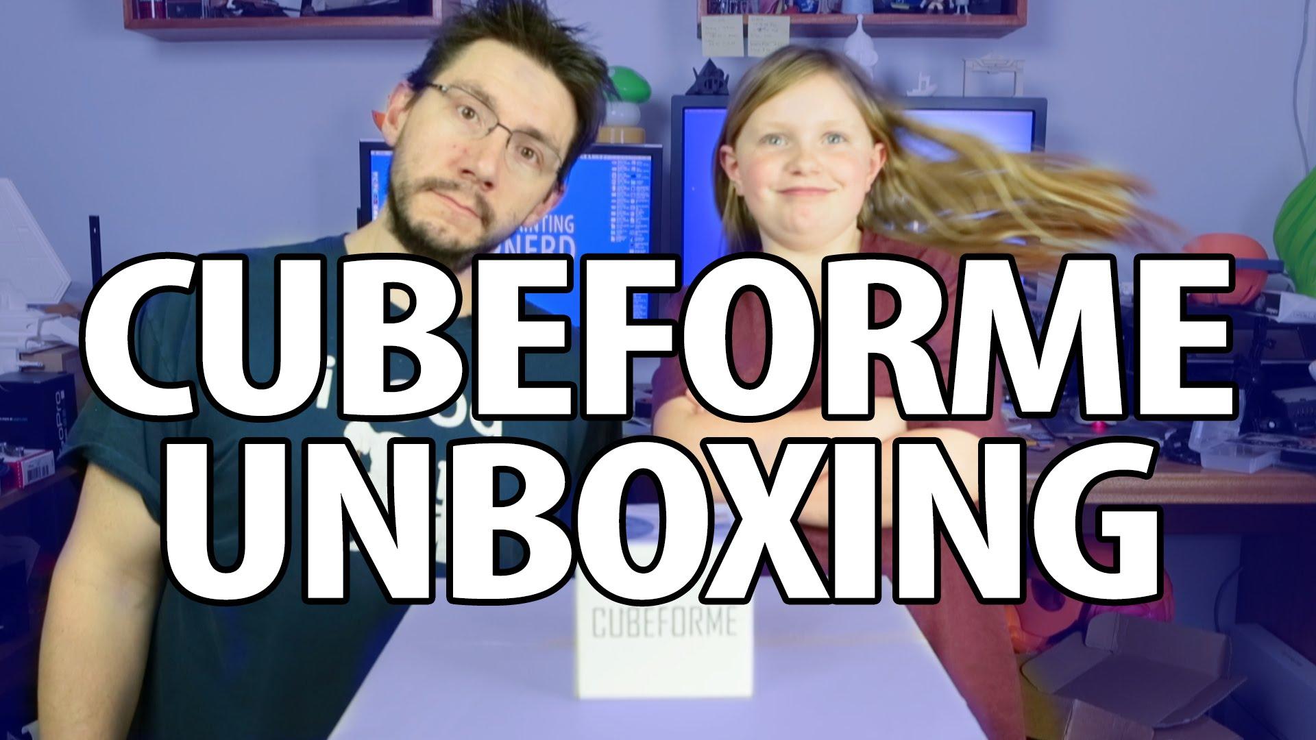 CUBEFORME Unboxing