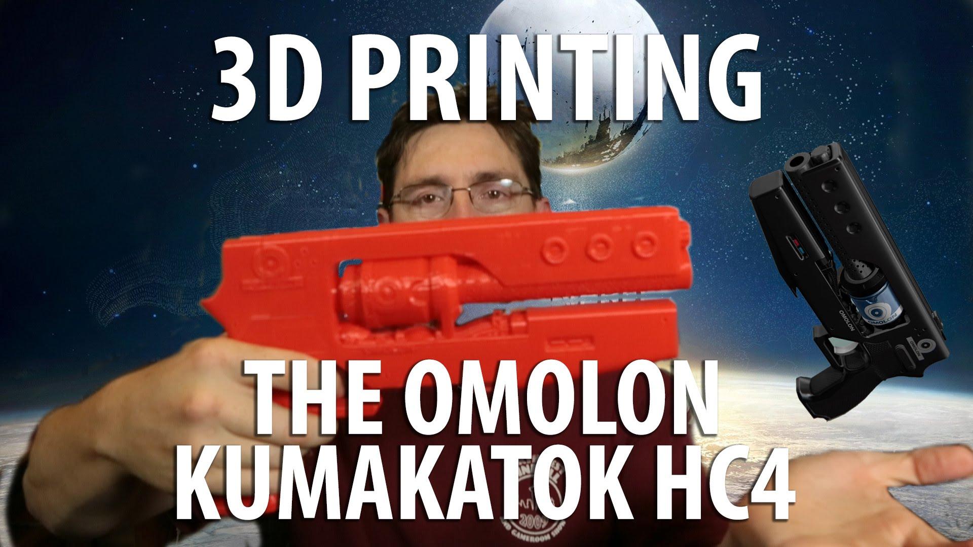 Assembling a 3D Printed Gun – Omolon Kumakatok HC4