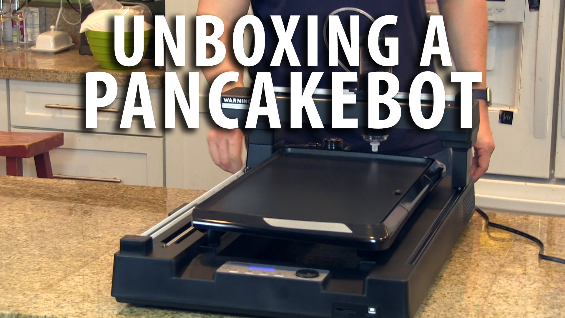 Unboxing the Pancakebot
