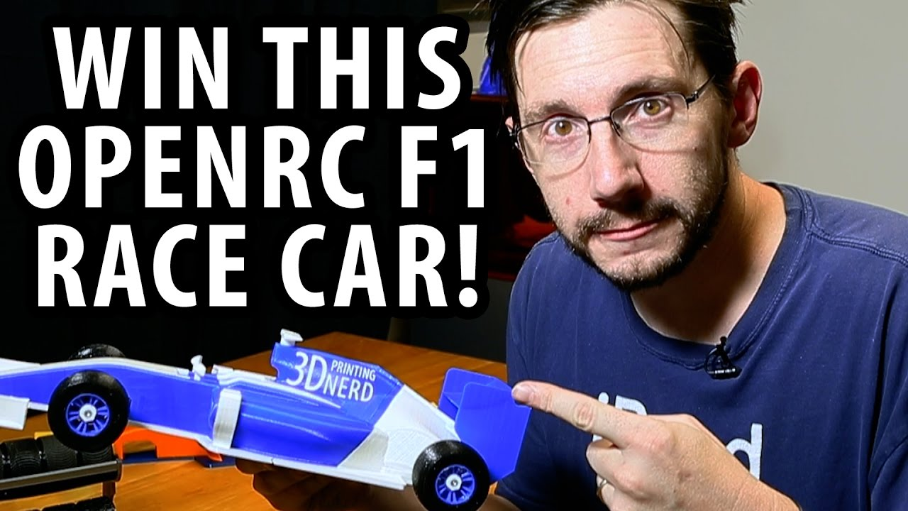 Win This 3D Printed OpenRC F1 Race Car!