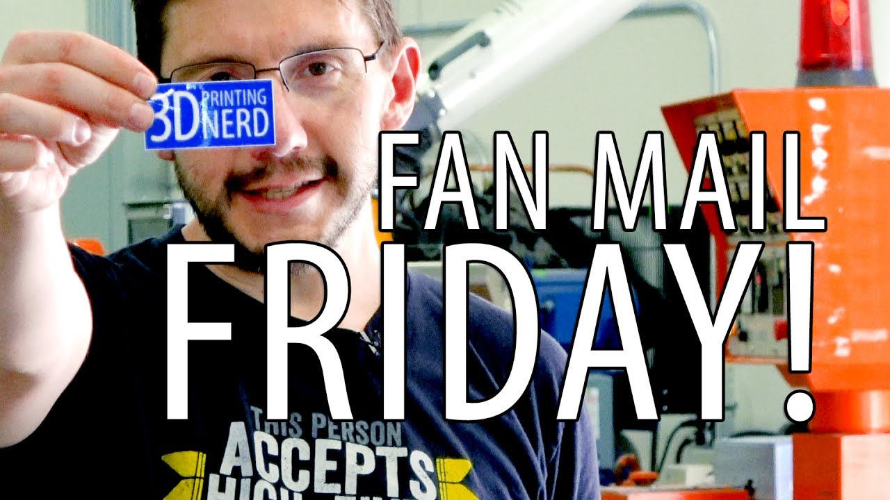 Fan Mail Friday While at Proto Pasta