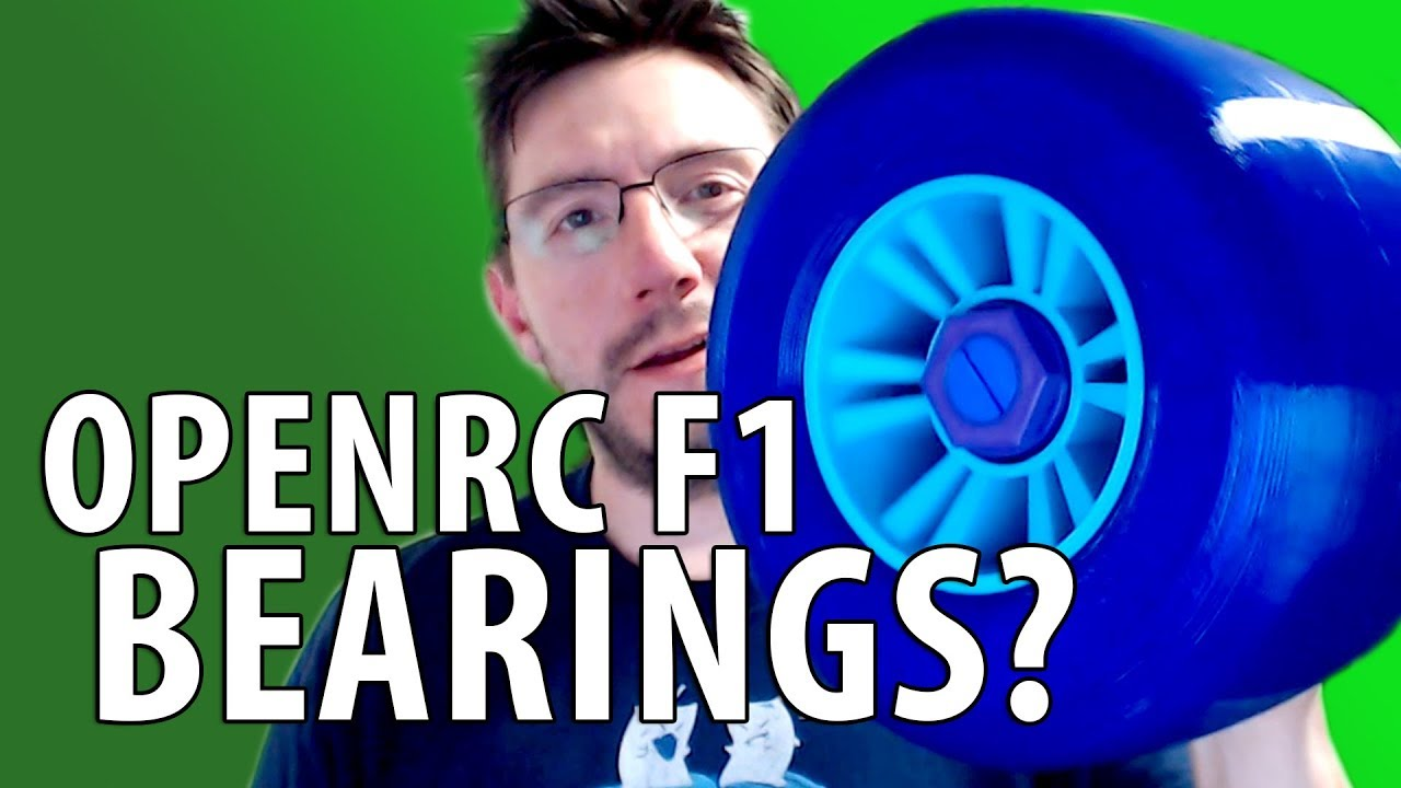 3D Printing Bearing Shapes for the World's Largest OpenRC F1 RC Car [EDIT: Its a Bushing]