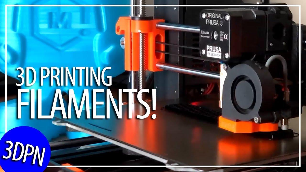 Guide to 3D Printing Filament! PLA ABS PETG TPU PEEK ULTEM