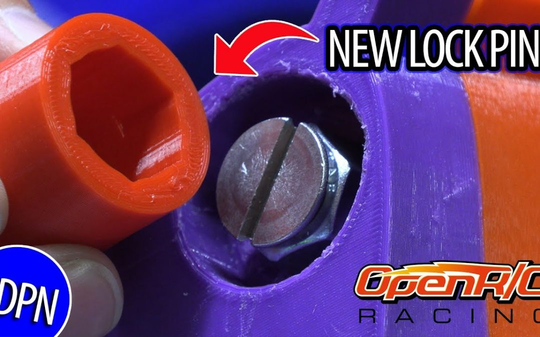 Worlds Largest OpenRC F1 – Car Update & New Lock Pin Tutorial!