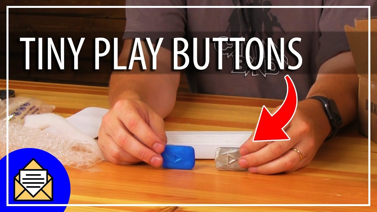 Fan Mail Friday – SUPER TINY PLAY BUTTON