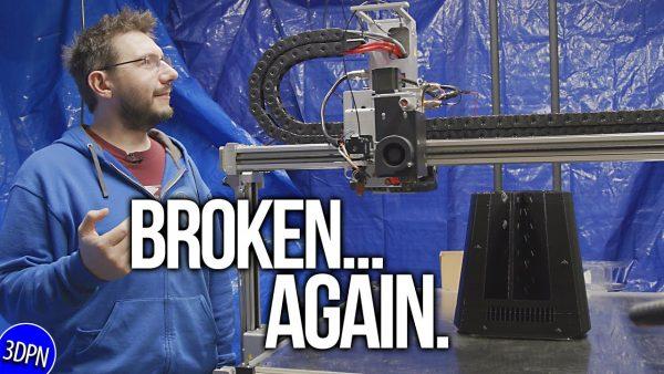 3DPrinted Speakers Part 1: Breaking the $38,000 3D Printer … Again?