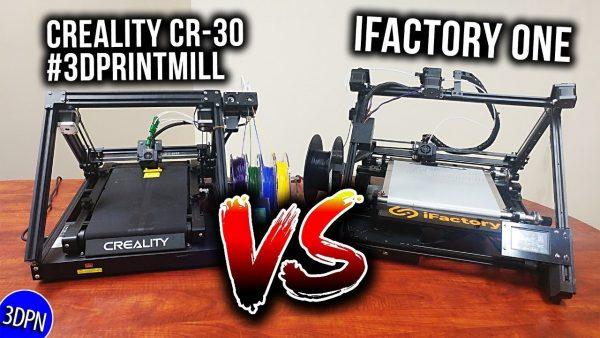 Creality CR-30 versus iFactory3D ONE Belt 3D Printer Discussion